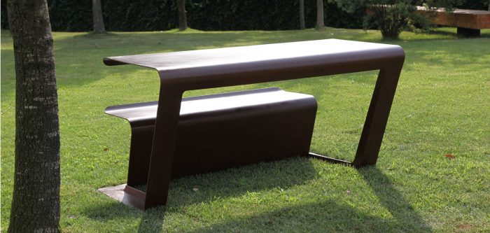 Stupendous Merenda Bench Table Eliteareas Gmtry Best Dining Table And Chair Ideas Images Gmtryco
